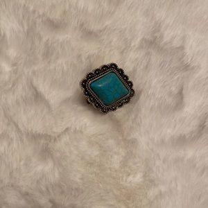 Boho style ring